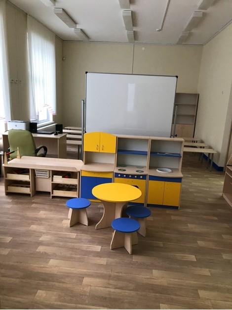 Оснащение оборудованием: детский сад в поселке Бугры